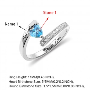birthstones ring